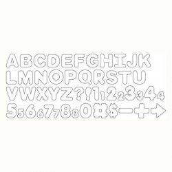 Emporte-pièces Lettres pk/50 Wilton