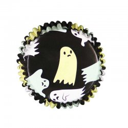 Caissettes à Cupcakes Fantômes Halloween pcs/30 PME
