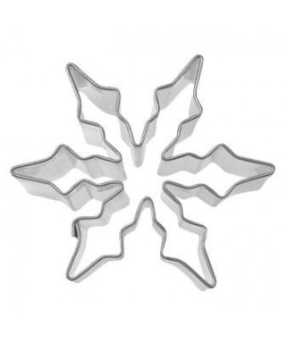 Emporte-pièce métal Flocon de neige 6 cm Städter