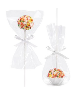 Set emballage cakepop pk/24 Wilton