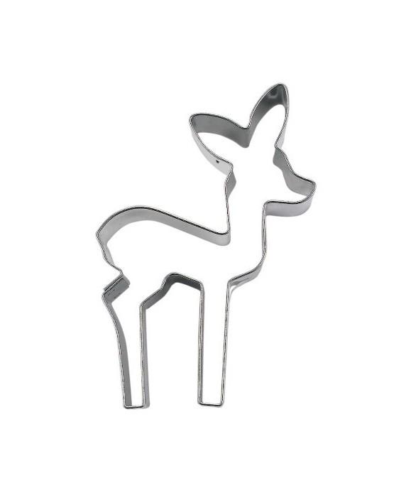 Emporte-pièce métal faon 7 cm Städter