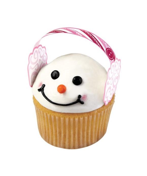 Décoration cupcakes Cache-oreilles Wilton