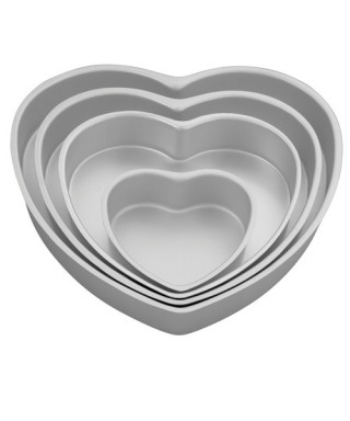 Moules Coeur set/4 Wilton