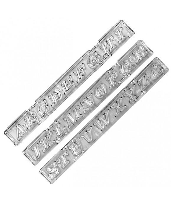 Clikstix Lettres majuscules Script Windsor Craft