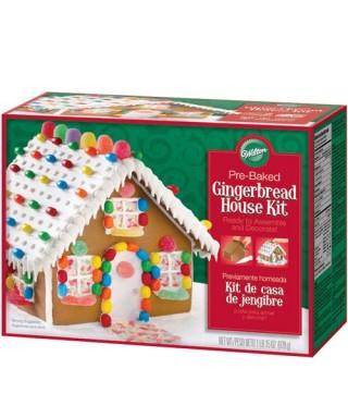Kit pour maison de Noel en pain d'épices Wilton