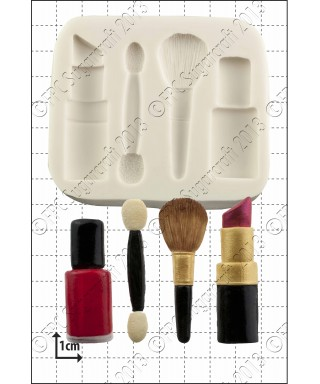 Moule Silicone Maquillage FPC Sugarcraft