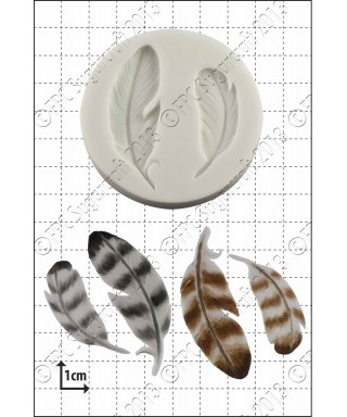 Moule Silicone Plumes FPC Sugarcraft