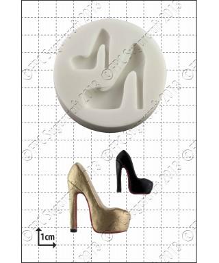 Moule Silicone Chaussures de mode compensé FPC Sugarcraft