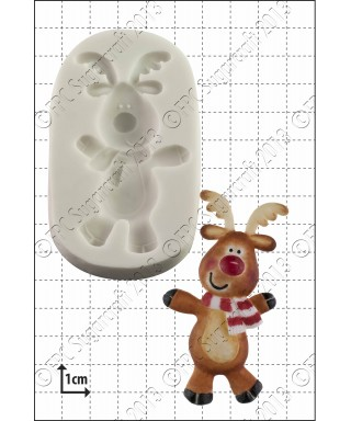 Moule Silicone Danse Rudolph FPC Sugarcraft