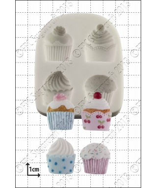Moule Silicone Cupcakes FPC Sugarcraft