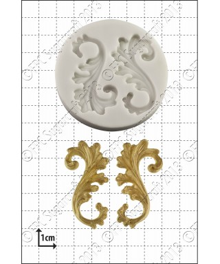 Moule Silicone Arabesque FPC Sugarcraft