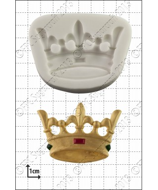 Moule Silicone Couronne FPC Sugarcraft