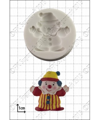 Moule Silicone Clown FPC Sugarcraft