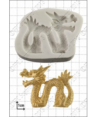 Moule Silicone Dragon chinois FPC Sugarcraft