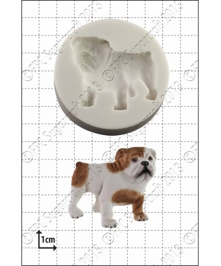 Moule Silicone Bulldog FPC Sugarcraft