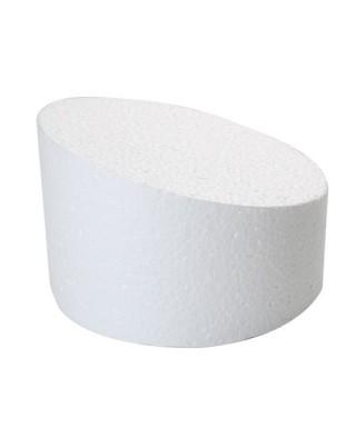 Dummy topsy turvy 30cm Ø support polystyrène