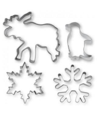 Emporte-pièce métal Paysage hivernal set/4 Städter