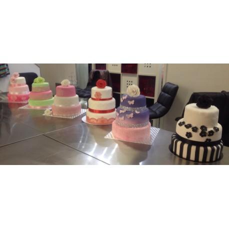 Atelier wedding cake 3 étages