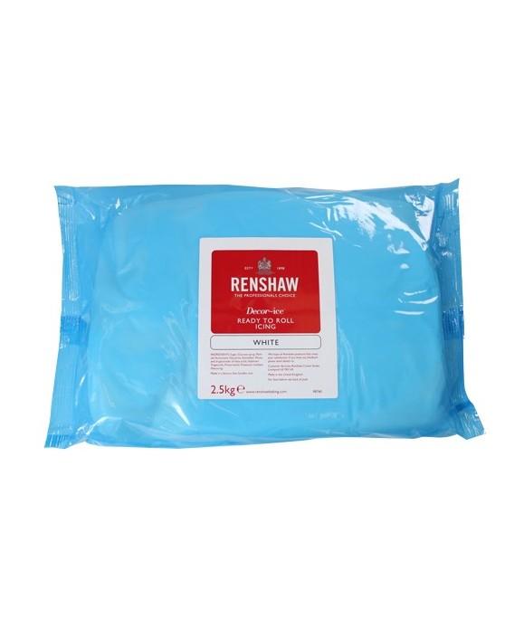 Pâte à sucre blanche Renshaw Régalice 2.5 kg