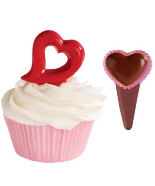 Moule Candy Mold Pic Cœurs Valentin Wilton