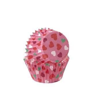 Mini Caissettes à cupcakes Valentine pk/100 Wilton