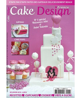 Cake Design France Magazine N° 6