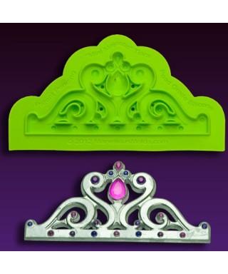 Tapis de texture silicone mini Majestic Tiara Marvelous Molds