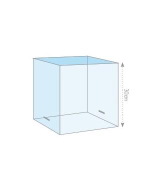 Boîte à gâteau transparent L30xH30xP30cm
