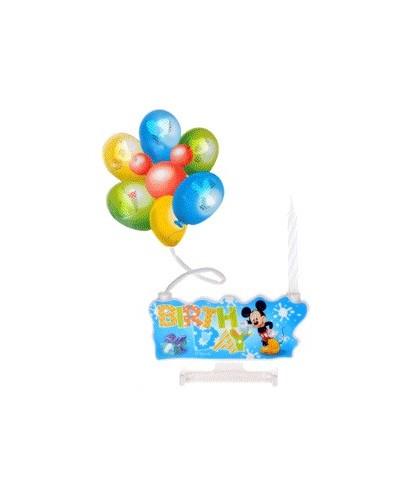Bougie Mickey sonne et s'allume Disney