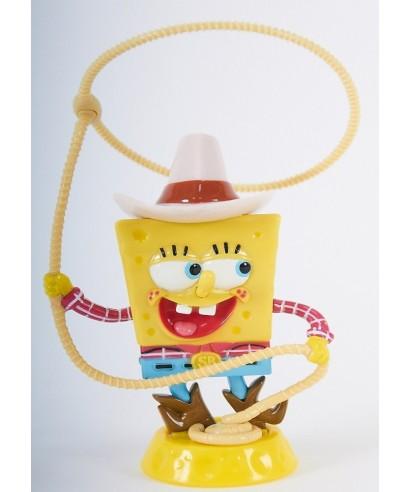 Figurine Bob l'éponge Cow-Bow