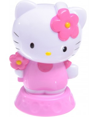 Figurine Rose Hello Kitty