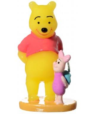 Bougie Winnie l'ourson et porcinet