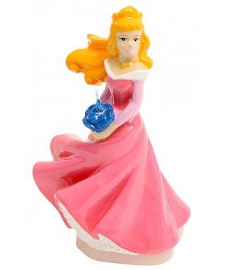 Bougie 3D Aurore la belle au bois dormant Disney Princesse