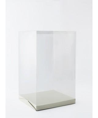 Boîte à gâteau transparent L30xH50xP30cm