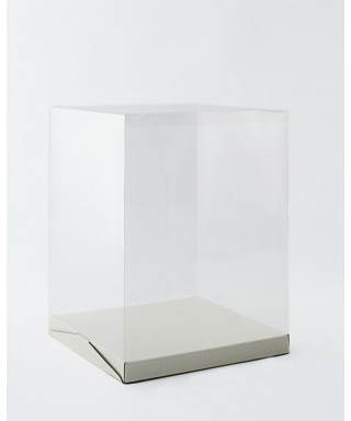 Boîte à gâteau transparent L30xH40xP30cm
