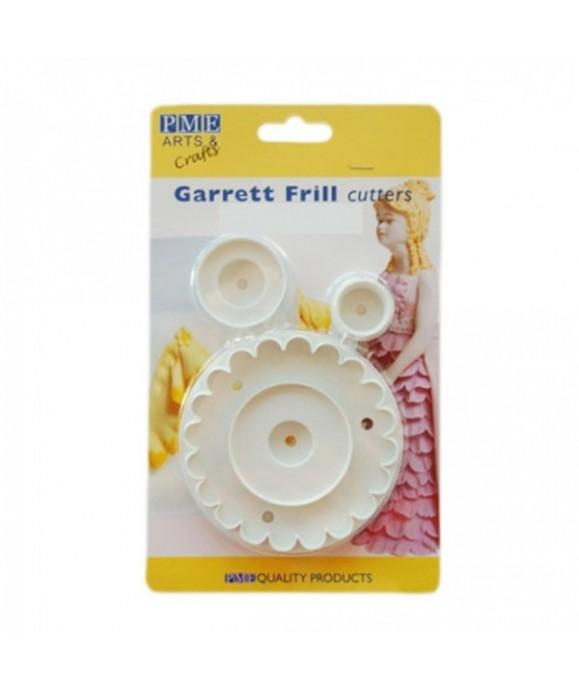 Emporte-pièce broderie anglaise - garrett frill cutters PME