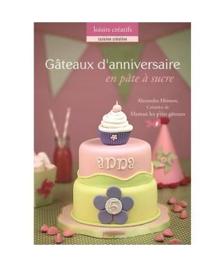 Livre Gâteaux de mariage en pâte à sucre de Alexandra HEMON