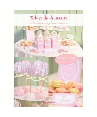 Livre Tables de douceurs de Nadège LAURENT