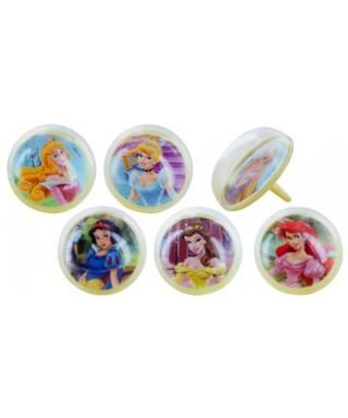 Kit Blanche Neige plus 6 bagues hologramme Disney Princesse