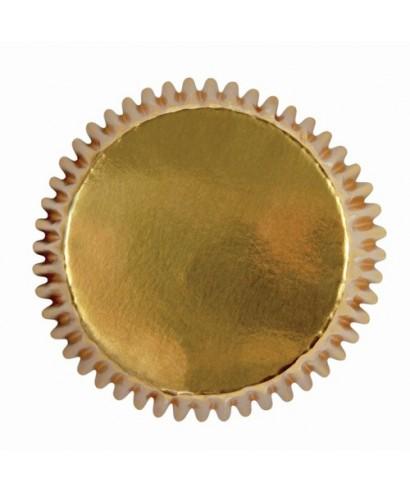 Mini caissette à Cupcake Or pk/45 PME