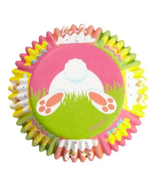 Caissettes Cupcake Pâques Hop & Tweet Wilton