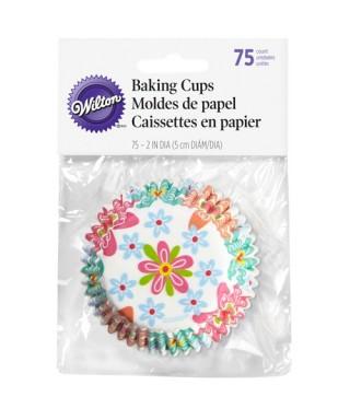 Caissettes Printemps pk/75 Wilton