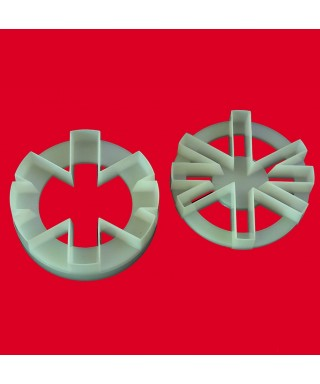 Emport- pièce Double face Cup Cake UNION JACK FMM Sugarcraft