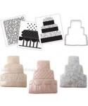 CK Cookie Cutter Texture Set Wedding Cake