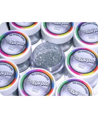 Paillette Bijou Argent Rainbow Dust