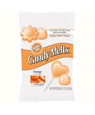 Wilton Candy Melts Orange 340G