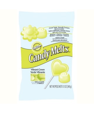 Wilton Candy Melts Vert Clair 280G