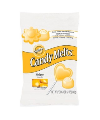 Wilton Candy Melts Jaune 340G