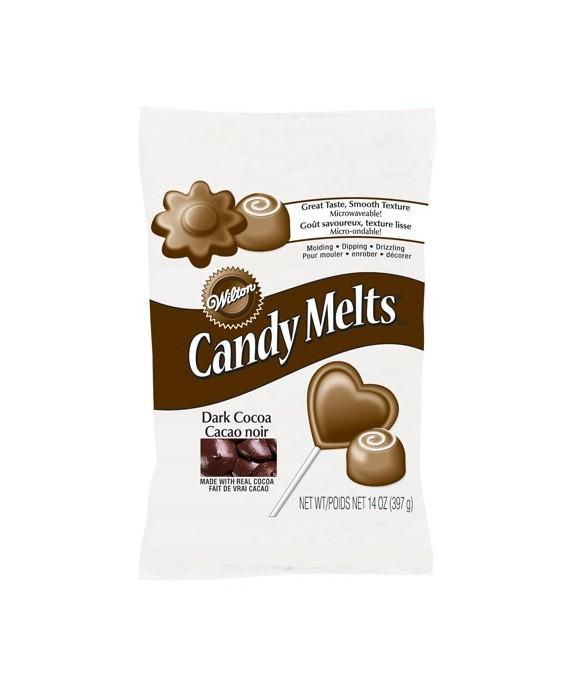 Wilton Candy Melts Cacao noir 340G