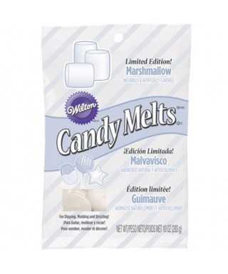 Candy Melts Colorburst brillant Marshmallow 283g Wilton